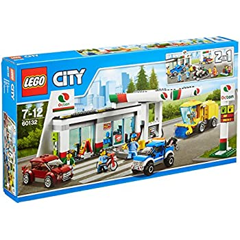 lego 60132 city jeu de construction la station service jeux et jouets. Black Bedroom Furniture Sets. Home Design Ideas