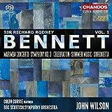 Sir Richard Rodney Bennett: Orchestral Works, Vol. 1 [Colin Currie; BBC Scottish Symphony Orchestra; John Wilson] [Chandos: CHSA 5202]