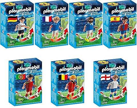 Playmobil Sports & Action 7pcs. set 6893 6894 6895 6896