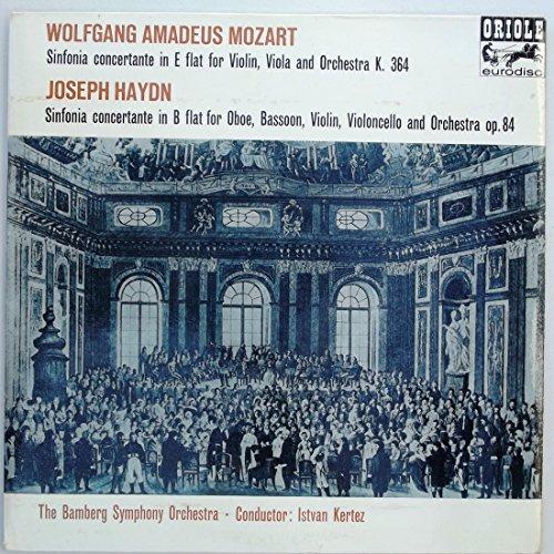 MOZART: Concerto for Violin, Viola and Orchestra, K.364 / HAYDN Concerto for Oboe, Bassoon, Violin, Violoncello and Orchestra, Op. 84 (Viola Haydn)