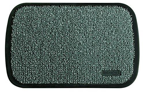 Felpudos Exteriores  de entrada exterior, 50 x 75 cm, color gris claro