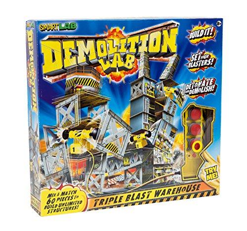 molition Lab Triple Blast Lager Play Set (Demolition Lab)