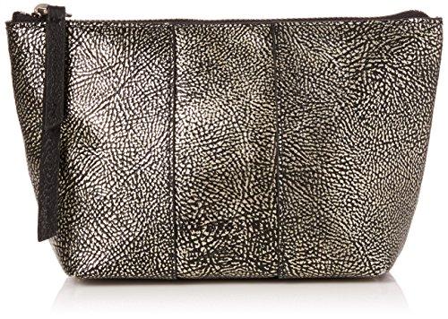 Liebeskind Berlin Damen Mainew7 Zipper Taschenorganizer, Silber (Silver), 12x7x23 cm