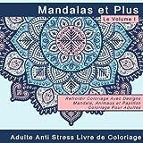 Mandalas et Plus: Adulte Livre de Coloriage