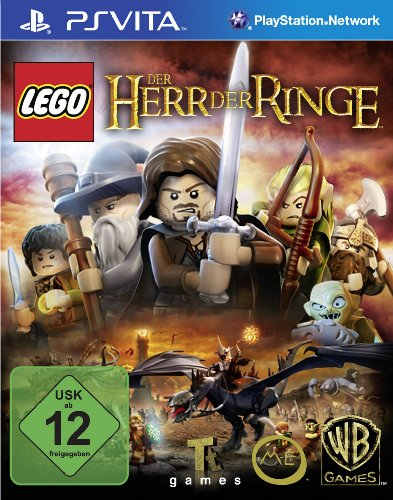 Lego Der Herr der Ringe - [PlayStation Vita] (Playstation Vita Spiele Lego)
