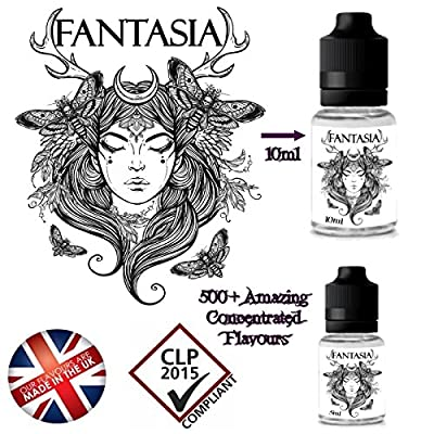 Irish Cream Konzentrierte e Flüssigkeit Aroma 10ml 0mg Nikotin Free Uk Delivery von Fantasia E Liquids