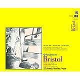 "Strathmore 300 Series Bristol Smooth Pad, 19""x24"" Tape Bound, 20 Sheets"