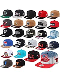 Mitchell & Ness Casquette Snapback Chicago Bulls, Valentine Nets ,Los Angeles Kings, Miami Heat, Warriors etc.