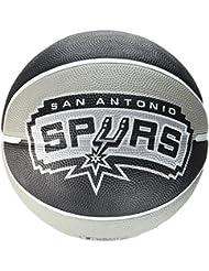 Spalding Basketball Team Spurs - Pelota de baloncesto, color multicolor, talla 5