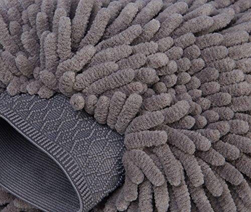 MEGUIAR'S G8216F Nettoyant Vitres Clarté Parfaite - 473 ML & AmazonBasics Gant de Lavage Microfibre de pour la Voiture, Pack de 2