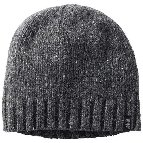 Jack Wolfskin Mens & Womens Merino Chunky Knit Basic Cap Hat