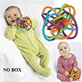 Baby Rattle Hand Bell Sensory Teether So...