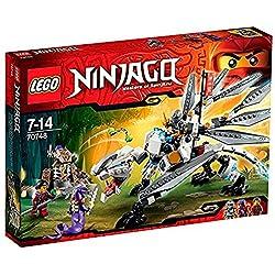 LEGO Ninjago - Dragón de titanio de NinjaGO espectacular (70748)
