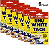 Blanc Tack adhésif X 3P