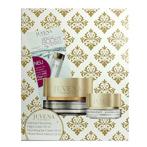 Juvena Skin Rejuvenate Night Set (Night Cream, 50 ml & Eye Cream, 15 ml & Boost Essence, 2,5 ml), 1...