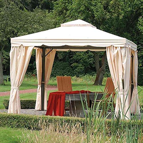 Siena Garden 587959 Ersatzdach zu Alu-Pavillon Dubai,  3x3m, natur