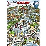 Geschenke Spaßartikel Stadtmotiv Puzzle im Karton von Bernd Natke Düsseldorfer
