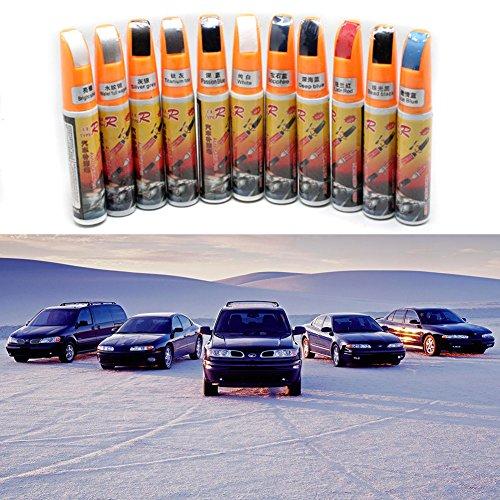 Bolígrafo de pintura para reparar arañazos en el coche, para todo tipo de coches, color negro