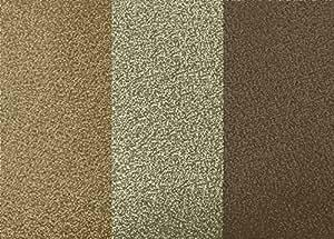 BHF Dl40791Paillettes papier peint à rayures–Doré/chocolat (2pièces)