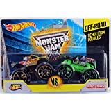 Hot Wheels Monster Jam Demolition Doubles - Team Hot Wheels Vs. Grave Digger