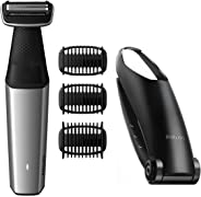 Philips Series 5000 Showerproof Body Groomer with Back Attachment and Skin Comfort System - BG5020/13