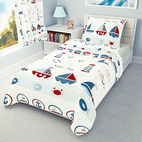Babies Island IKEA Cot Bedding Duvet Cover Pillowcase 110 x 125 cm Many Designs Available Little Dinosaur