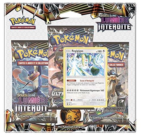 Pokémon: Tri Pack FRANCAIS de 3 boosters Soleil et Lune Lumière Interdite