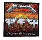 Metallica - Master Of Puppets[Patch/Aufnäher ]Metallica Aufnäher !!