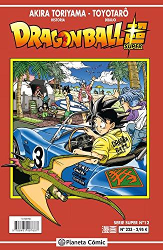 Dragon Ball Serie roja nº 223 (Manga Shonen) por Akira Toriyama