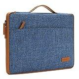 DOMISO 10.1' Notebook Housse Sacoche Pochette pour Ordinateur Portable Tablet Laptop Sleeve pour 12' MacBook / 10.8' Microsoft Surface 3, Bleu