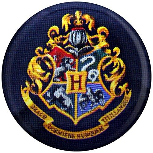 Harry Potter Pin Badge Button Brooch Hogwarts School Crest Logo Official