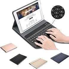 iPad 9,72018/9,72017/Pro 9,7/Air/Air 2Keboard Fall Leder Folio Ultra Slim magnetisch Abnehmbare Ständer Smart Cover mit Tastatur