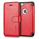 Mulbess Coque iPhone 5C, Étui Coque en Cuir pour iPhone 5C [Housse Pochette...