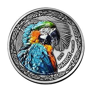 InverCoin Papagei 1000 CFA Franken 1 Unze Silbermünze - Burkina Faso 2016