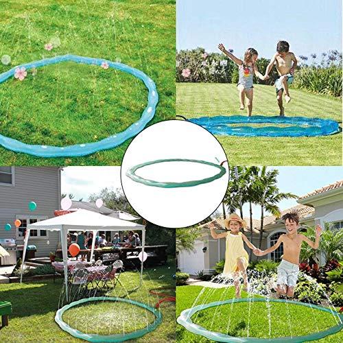Hamkaw Draussen Wasser Sprinkler Spielzeug Für Kinder, Sommer Hof Splash Ring Spielzeug Für Jungen Kleinkinder Mädchen Garten Pool Party Spray Spiel Spielzeug 2 Mt