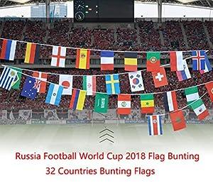 eventos escolares: Banderines de la Copa del Mundo Eholder de Rusia con la bandera de la Copa del M...