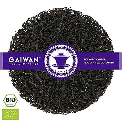 """N° 1253: Thé noir bio """"Vanille noir"""" - feuilles de thé issu de l'agriculture biologique - GAIWAN® GERMANY - thé noir d'Assam, Nilgiri"""