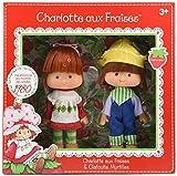 Asmokids - KKCF2HUC - Charlotte Aux Fraises et Clafoutis Myrtilles Strawberry Shortcake, Lot de 2 Poupées...