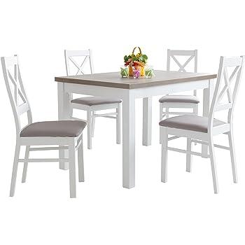 mb mit oder moebel 4 Esstisch stühlen110x70 Holzgestellt VUMpzS