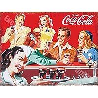 Coca Cola Rétro Diner Anni 50 America