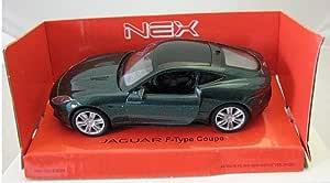 Welly Diecast Diecast Modellauto 1 36 39 Jaguar F Type Coupe Grün Metallic Neu Und Box Spielzeug