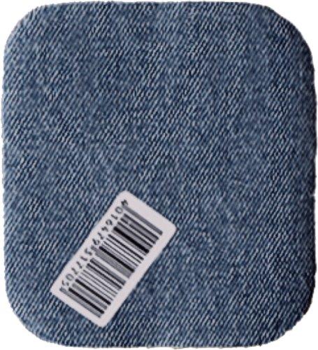 1 Stoff Jeans Flicken Jeansflicken Bügelflicken mittelblau