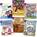 Learn at Home:Star Reading Purple Level Pack (5 Fiction and 1 Non-fiction Book)