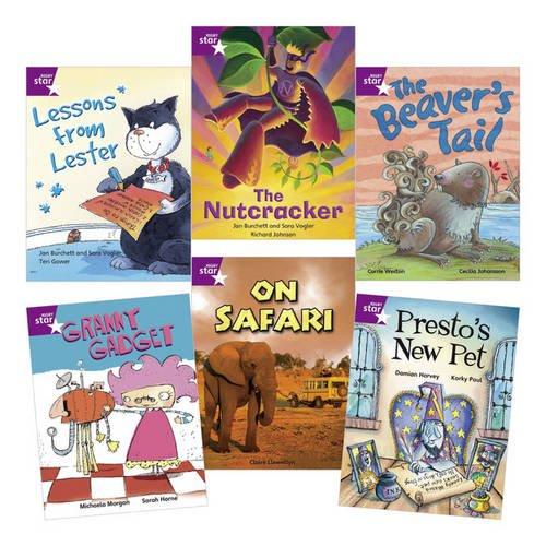 [PDF] Téléchargement gratuit Livres Learn at Home:Star Reading Purple Level Pack (5 Fiction and 1 Non-fiction Book)