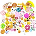 Random 20 pcs squishies pack Jumbo Medium Mini Soft Squishy Cake/Panda/Bread/Buns Phone Straps Good Smell by Karids