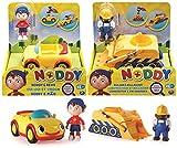 Noddy & Revs or Builder & Bulldozer Rev N Go Vehicle - Assorted