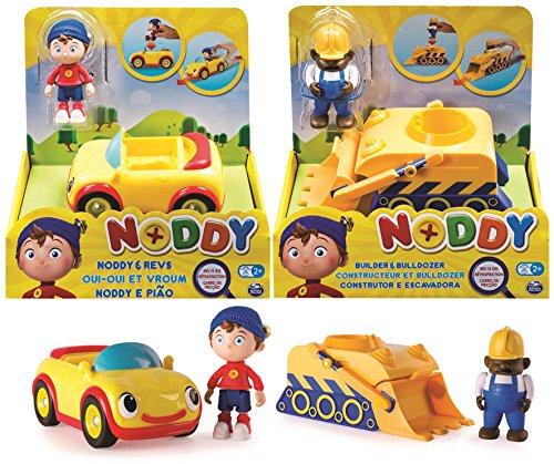 Unbekannt Noddy 6029061–Fahrzeuge mit Rückzug mit Figur, Sortiert Fahrzeuge