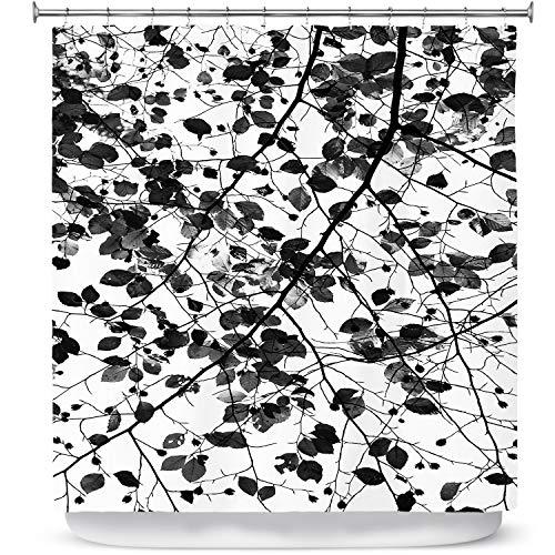 DiaNoche Designs Cortinas Ducha Iris Lehnhardt Foliage