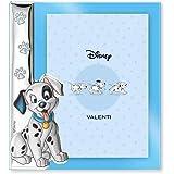 Disney Baby - La Carica dei 101 - Cornice per Foto in Argento da Tavolo o Comodino con Dettaglio 3D Cane Dalmata Lucky per la