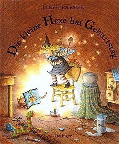 Die kleine Hexe hat Geburtstag (German Edition) by Lieve Baeten (1995-02-01)